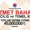 Karabük Belediyesinden 45.000.000'luk Hizmet Baharı