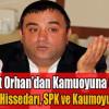 Murat Orhan'dan Kamuoyuna Çağrı