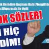 VERGİLİ'DEN ŞOK SÖZLER!
