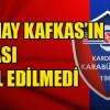 KARABÜKSPOR KAFKAS'IN İSTİFANI KABUL ETMEDİ