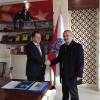 AK Parti'li Aday Adayı Dönmez'den Emniyet Müdürü Tezsever'e Nezaket Ziyareti