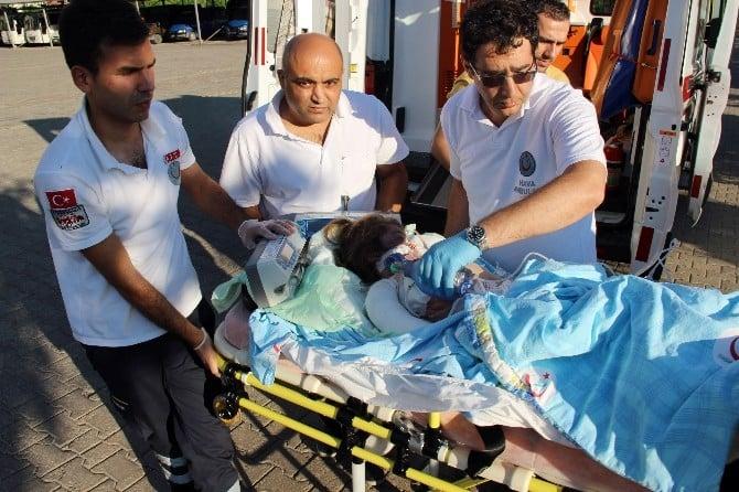 112 Hava Ambulansı Minik Berna Nur İçin Havalandı