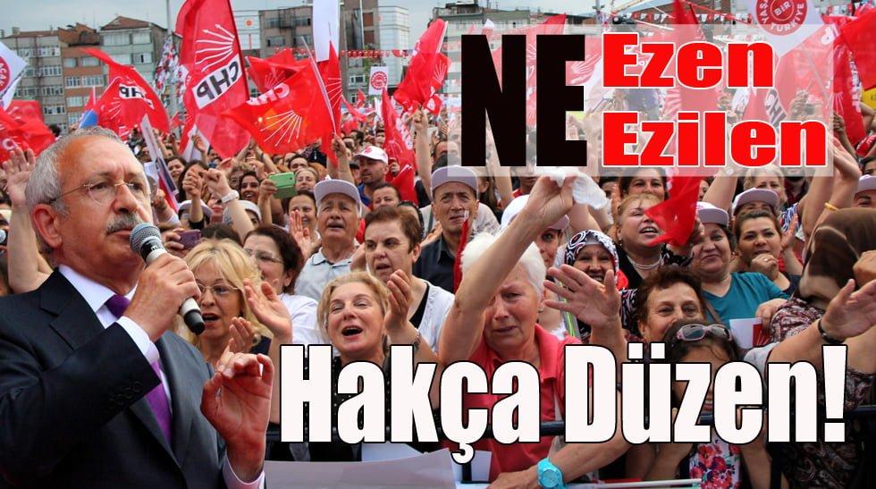CHP Lideri Kılıçdaroğlu Karabük'te