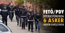 Karabük'te ankesörlü telefon operasyonunda 6 asker adliyeye sevk edildi