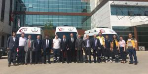 Yenice'ye 4×4 ambulans