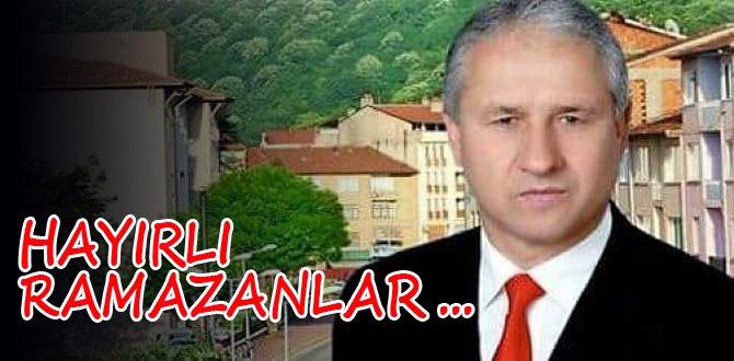 Belediye Başkanı Çaylı'dan Ramazan ayı mesajı