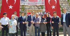 Lise öğrencilerinden Afrin şehidin anısına okul bahçesine çeşme