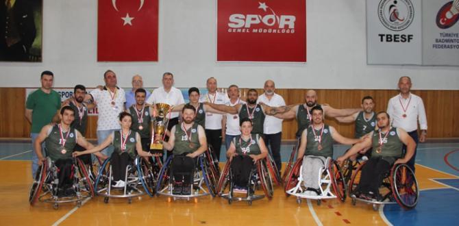 Tekerlekli Sandalye Basketbol Takımı dördüncü tamamladı