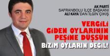 AK PARTİ'DEN VİZYON TARTIŞMASI