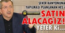 """VERGİLİ; """"YENİCE'NİN DOĞASINI BOZDURMAM!"""""""