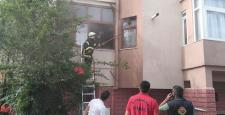 Safranbolu'da ev yangını