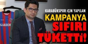 KAMPANYA SIFIRI TÜKETTİ!