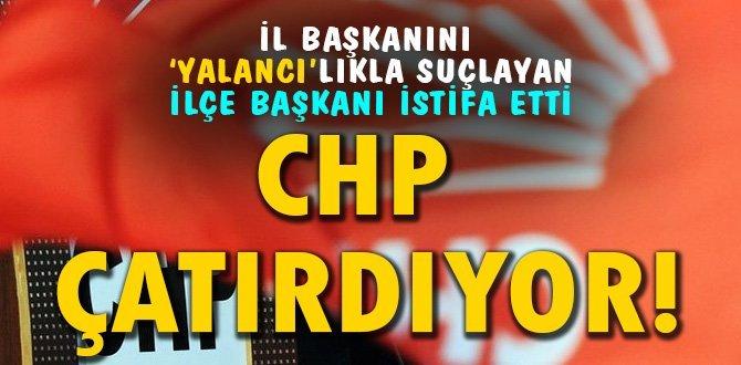 CHP'DEN İSTİFA ETTİ
