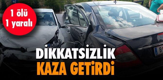 Karabük'te trafik kazası: 1 ölü, 6 yaralı