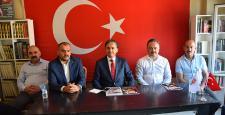 AK Parti'den Büyük Birlik Partisi'ne teşekkür ziyareti