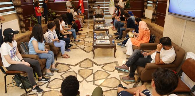 Gönül elçileri Karabük Üniversitesi'nde