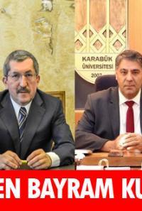 Karabük Protokolü vatandaşların bayramını kutladı