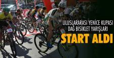 8'nci Uluslararası Yenice Kupası Dağ Bisiklet yarışları start aldı