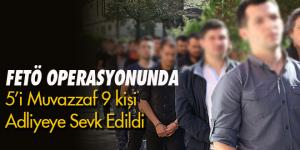 FETÖ operasyonunda gözaltına alınan askerler adliyeye sevk edildi