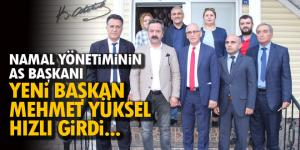 YENİ BAŞKAN'A İLK DESTEK ANKARA'DAN!