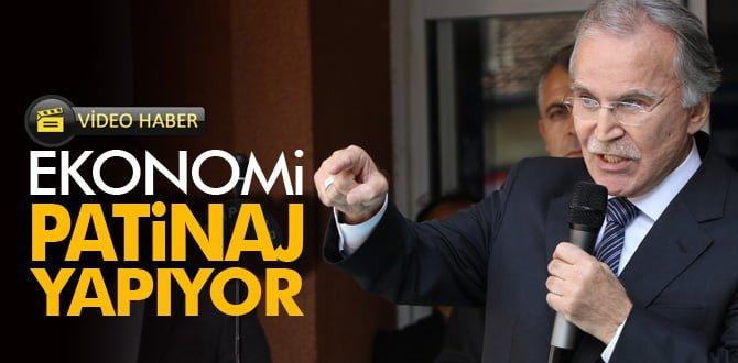 TBMM eski Başkanı Şahin'den ekonomiyi 'Patinaj' benzetmesi