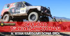 Off-Road Türkiye Şampiyonası 6. ayak yarışları sona erdi
