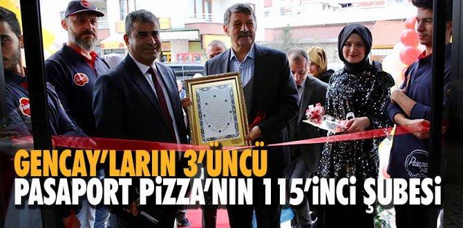 GENCAY'LARIN 3'ÜNCÜ, PASAPORT ZİNCİRİNİN 115'İNCİ ŞUBESİ
