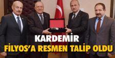 KARDEMİR LİMAN'A RESMEN TALİP OLDU