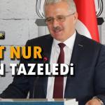 Ahmet Nur güven tazeledi