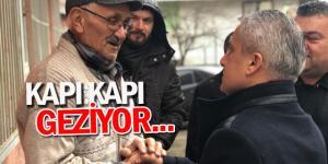 KAPI KAPI GEZİYOR!
