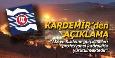 KARDEMİR'den işçi kademe artışı açıklaması