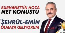 UYSAL; ŞEHRÜL-EMİN OLMAYA GELİYORUM
