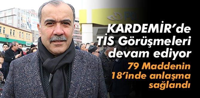 KARADEMİR'de 14. TİS görüşmeleri devam ediyor