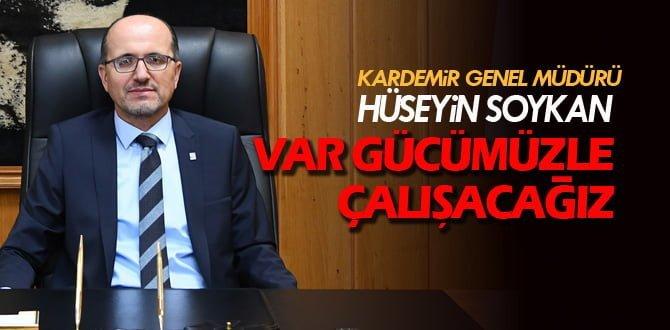KARDEMİR Genel Müdürü Soykan'dan açıklama yaptı