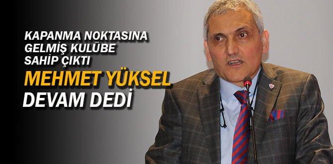 Kardemir Karabükspor, Mehmet Yüksel ile 'devam' dedi