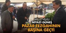 AK PARTİLİ VEKİLLER ÇARŞI PAZAR GEZİYOR