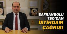 Safranbolu TSO'dan istihdam çağrısı