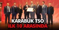 KARABÜK TSO İLK 10 ODA ARASINDA!