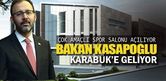Gençlik ve Spor Bakanı Kasapoğlu Karabük'te