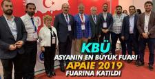 KBÜ, Asya'nın en büyük eğitim fuarına katıldı