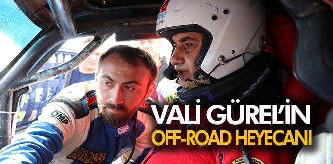 VALİ GÜREL'İN OFF-ROAD HEYACANI