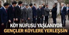 """Vali Gürel, """"Gençlerimizin de artık köylerde yaşaması lazım"""""""
