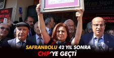 Safranbolu Belediyesi 42 yıl sonra CHP'ye geçti