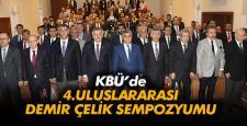 KBÜ'de '4. Uluslararası Demir Çelik Sempozyumu' başladı