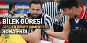 Bilek Güreşi Gençler Türkiye Şampiyonası sona erdi