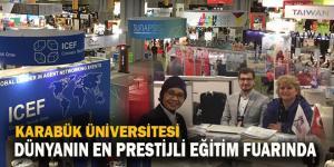 KBÜ, dünyanın en prestijli eğitim fuarında