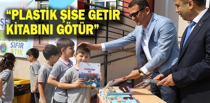 'Plastik şişeni getir, tatil kitabını götür' kampanyası