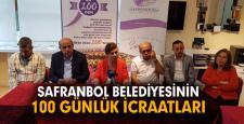 Başkan Köse 100 günde yaptığı çalışmalar hakkında bilgi verdi