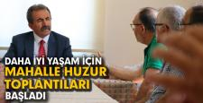 MAHALLE HUZUR TOPLANTILARI BAŞLADI