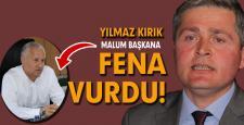 AK PARTİLİ KIRIK'TAN SERT AÇIKLAMA
